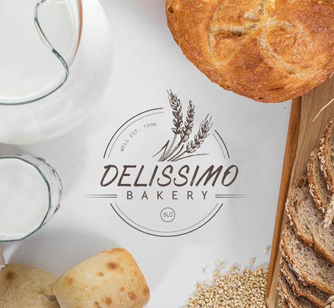 Delissimo bakery logo