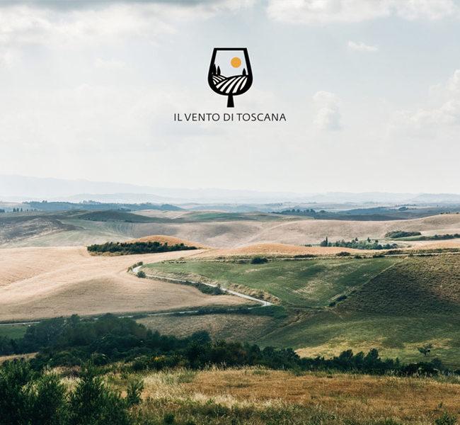 Il vento di Toscana branding