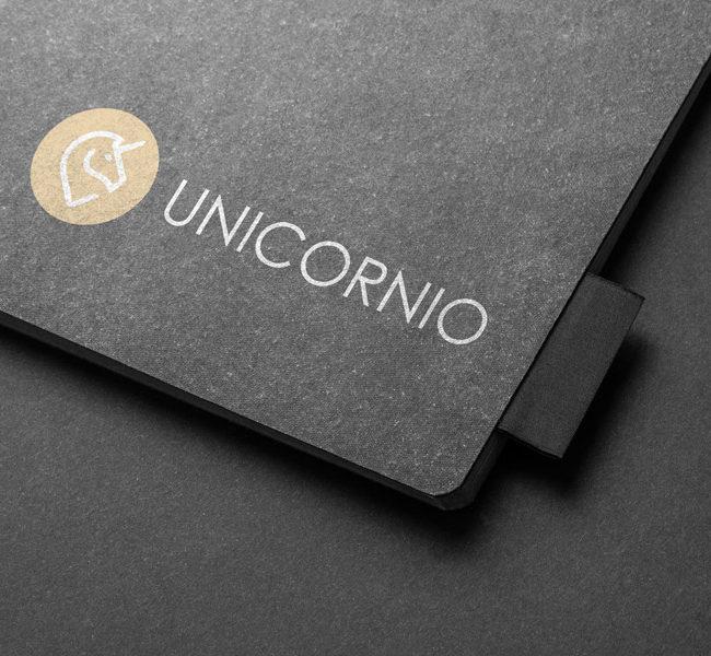 Unicornio company branding